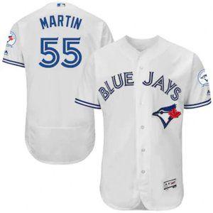 Toronto Blue Jays Russell Martin #55 40th Jersey